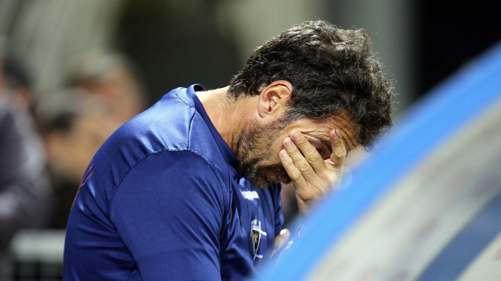 Vincent Etcheto lors de la défaite de l'UBB à Castres - avril 2015