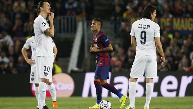 Барселона псж лига чемпионов онлайнi