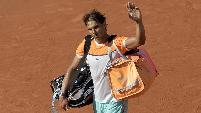 """""""Un d�sastre"""" inqui�tant pour Nadal � un mois de Roland-Garros"""