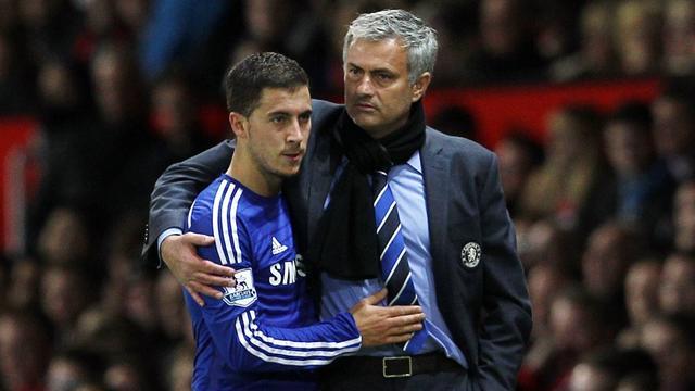 """Hazard : """"J'ai envoyé un message à Mourinho pour lui dire que j'étais désolé"""""""