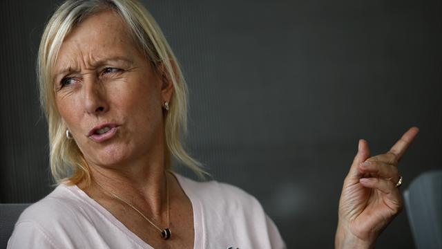 Navratilova expects to hear from Australian Open organisers over Court comments