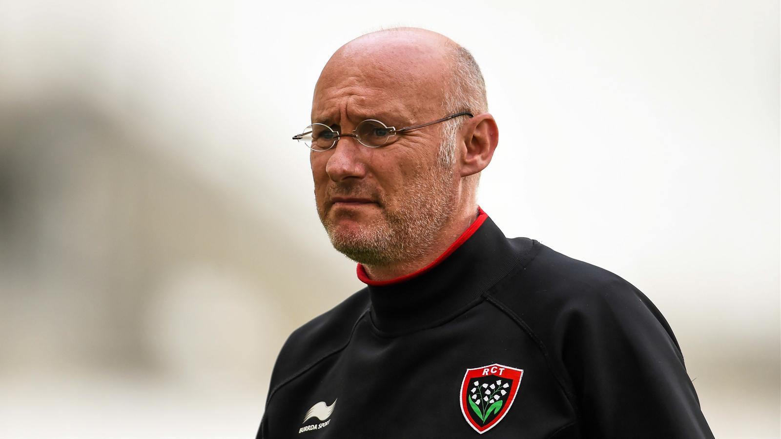 Bernard Laporte, le manager de Toulon - avril 2015