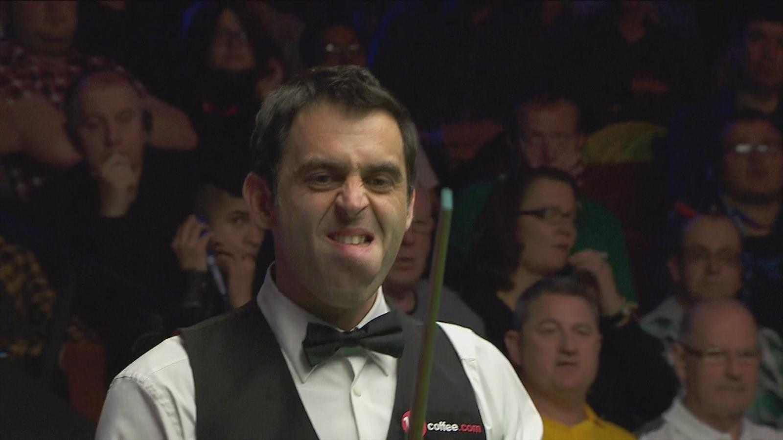 Rampant Ronnie O'Sullivan on verge of 17th Crucible quarter-final spot - Snooker - Eurosport