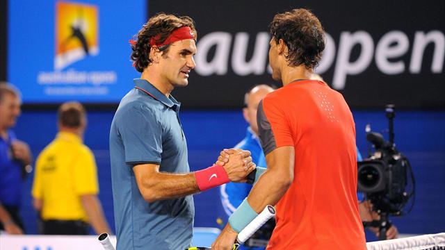 """Federer : """"Pour moi, Rafa reste le favori de Roland-Garros"""""""