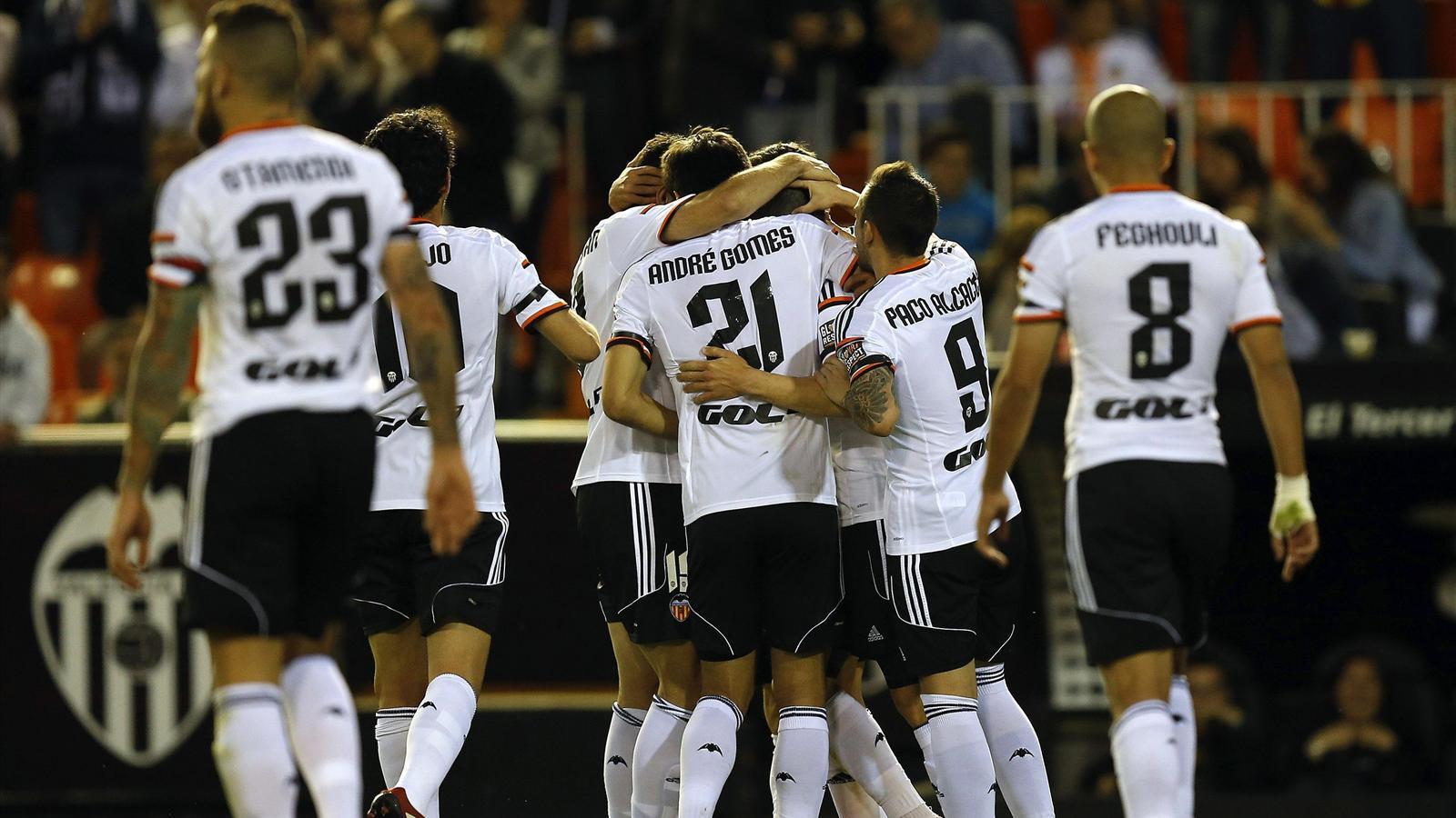 İspanya Ligi: Valencia 4-0 Granada - İspanya Ligi 2014-2015 - Futbol - Eurosport