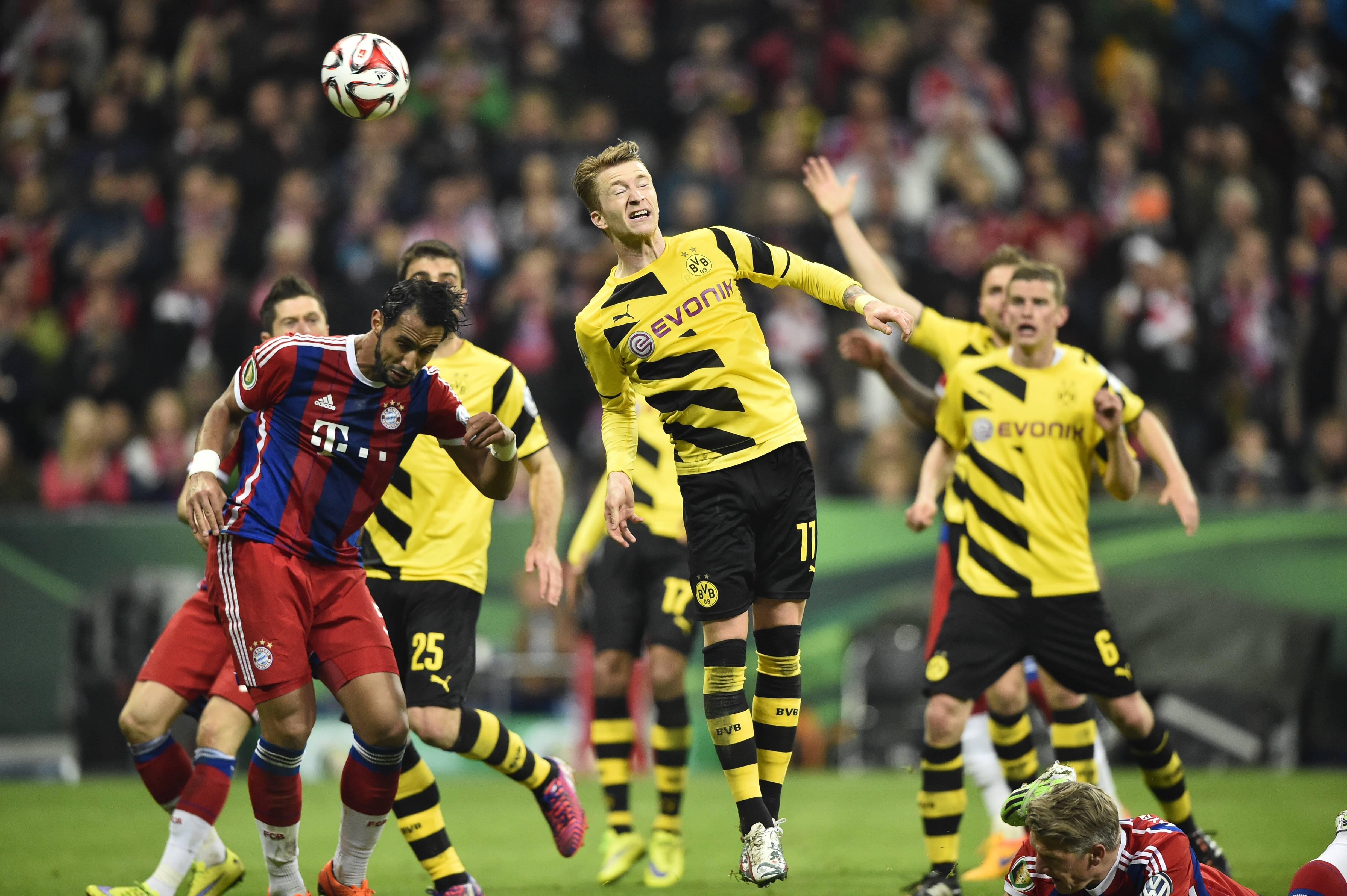 Чемпионат Германии: Боруссия Дортмунд — Бавария