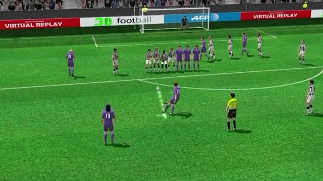 3D Goal: Josip Ilicic (Fiorentina)