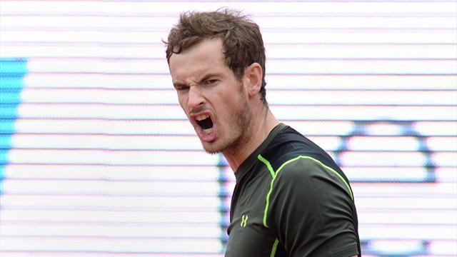 Andy Murray remporte son premier titre sur terre battue