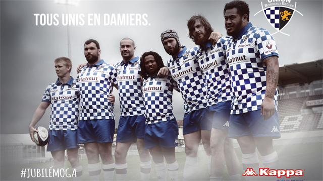 Le maillot collector de l'Union Bordeaux-Bègles cartonne