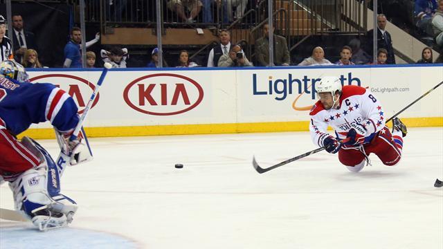Playoff NHL – Super Ovechkin non basta, i Rangers pareggiano la serie