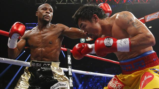 'I'm coming back' - Mayweather makes 'nine-figure' Pacquiao claim