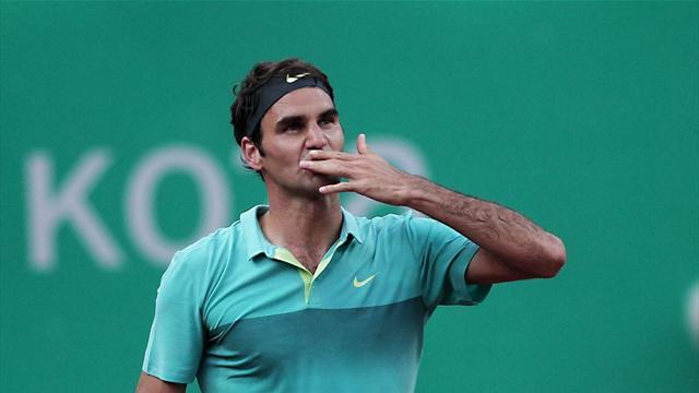 Federer: İlk şampiyon olduğum için gururluyum