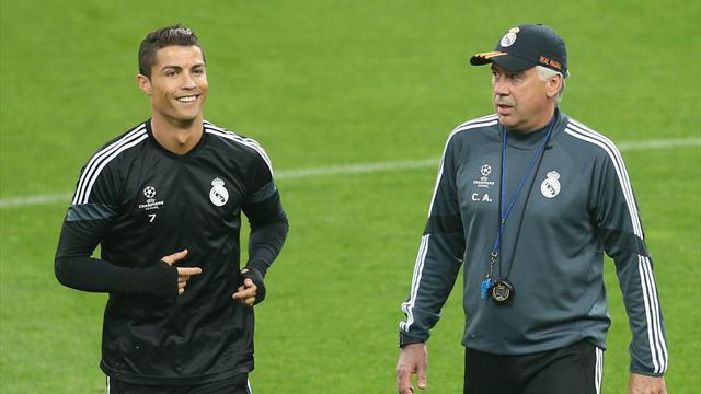 Ronaldo prend position pour le maintien d'Ancelotti