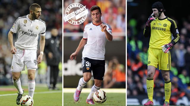 Benzema, Gayà y Cech, nombres del día