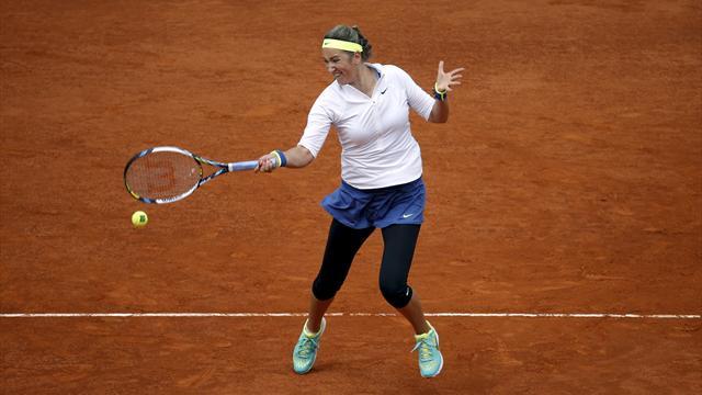 WTA Madrid: Favorilerden fire yok