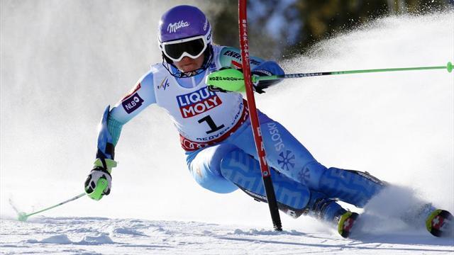 Tina Maze se alătură canalului Eurosport pentru etapele de Cupă Mondială din acest weekend
