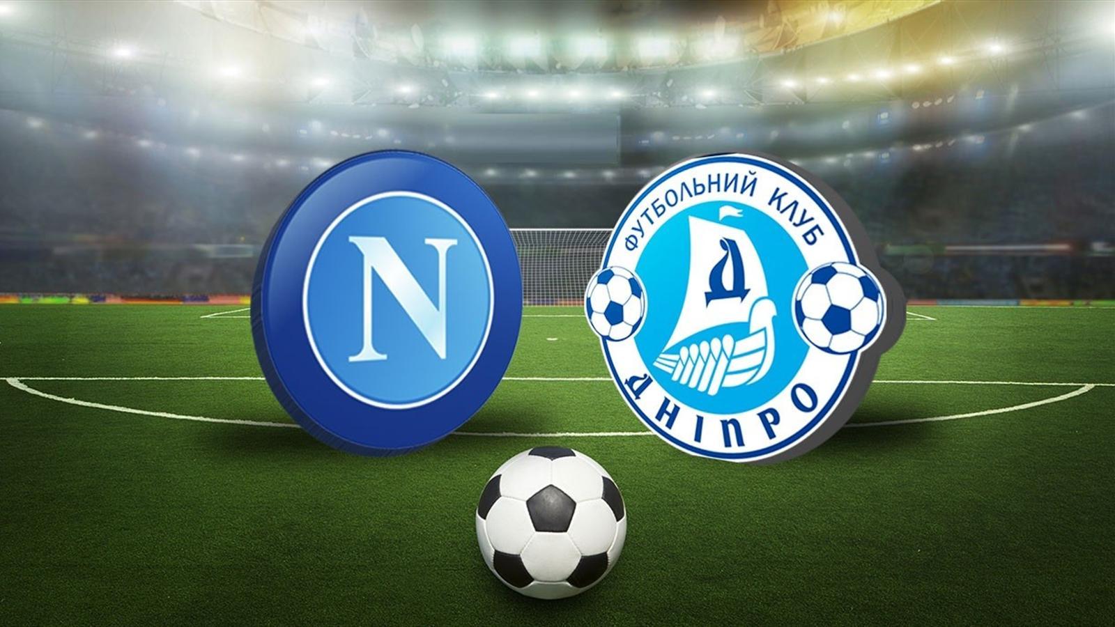 «Днепр» избежал поражения от «Наполи» в первой полуфинальной игре Лиги Европы
