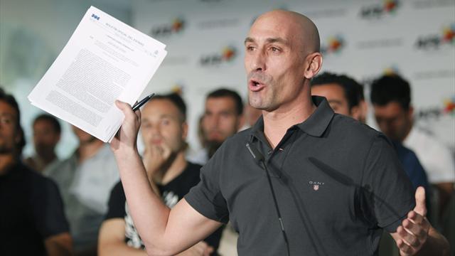 Luis Rubiales, nuevo presidente de la Real Federación Española de Fútbol