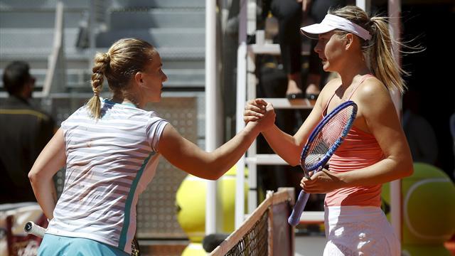 Sharapova'ya Kuznetsova darbesi