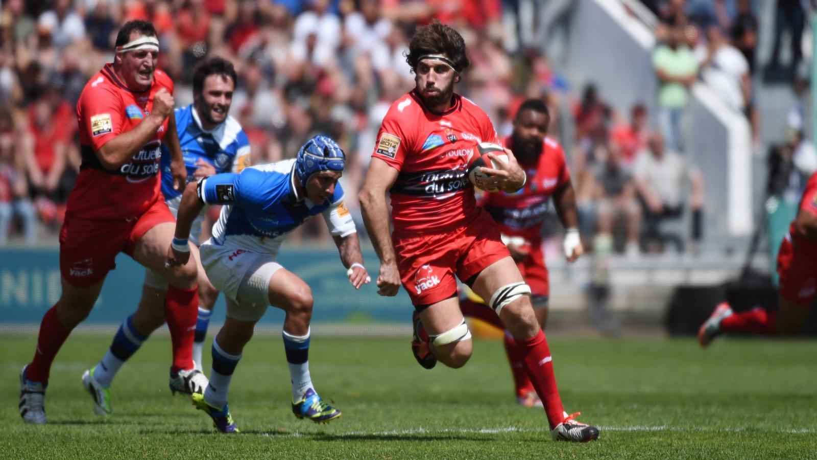 Juan Martin Fernandez Lobbe (Toulon) face à Castres - 9 mai 2015