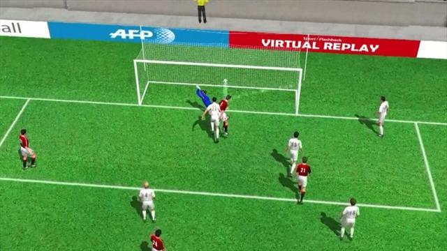 Mattia Destro's goal for AC Milan
