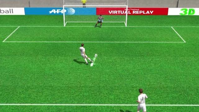 Francesco Totti's goal for Roma