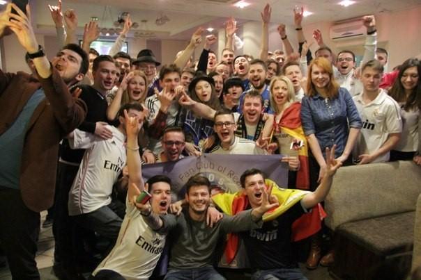 Фанаты «Реала» из Минска