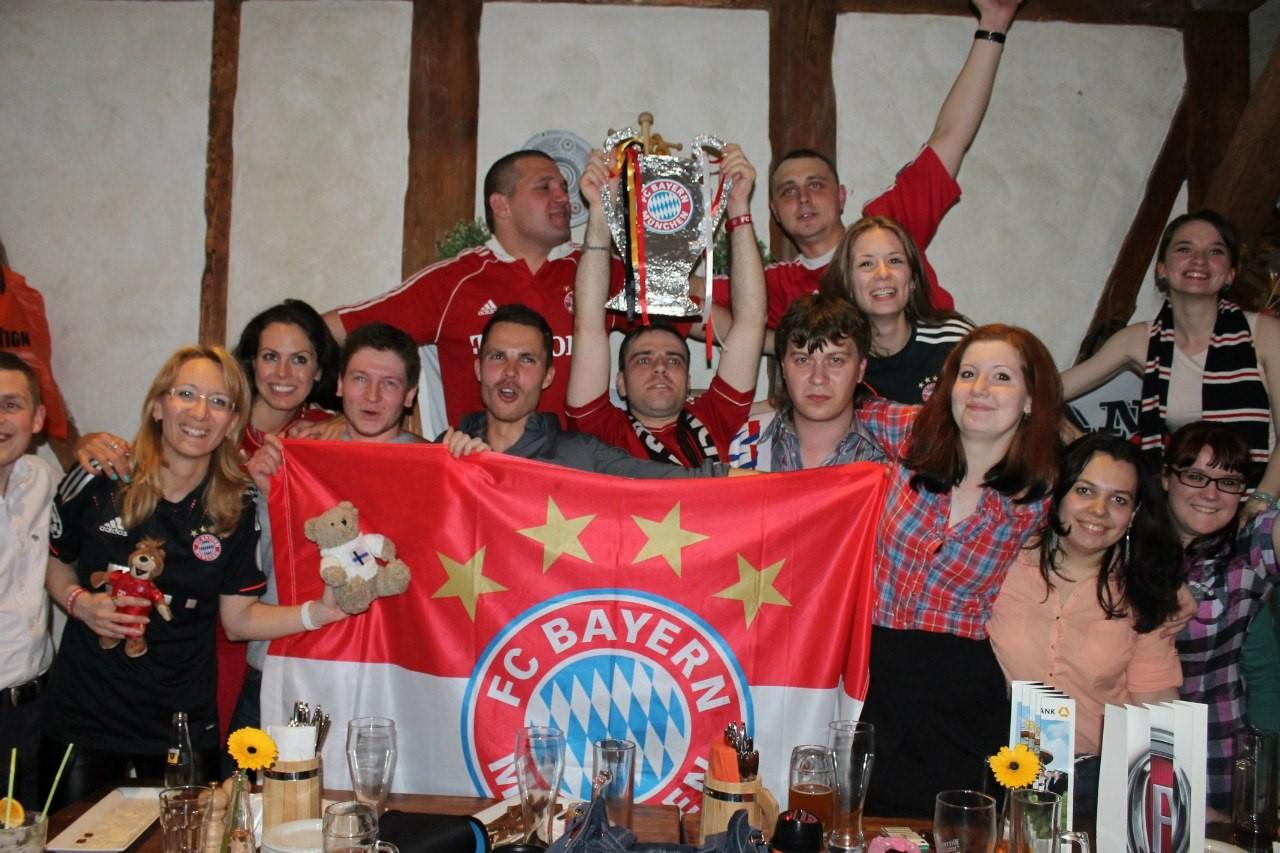 Русские фанаты «Баварии»