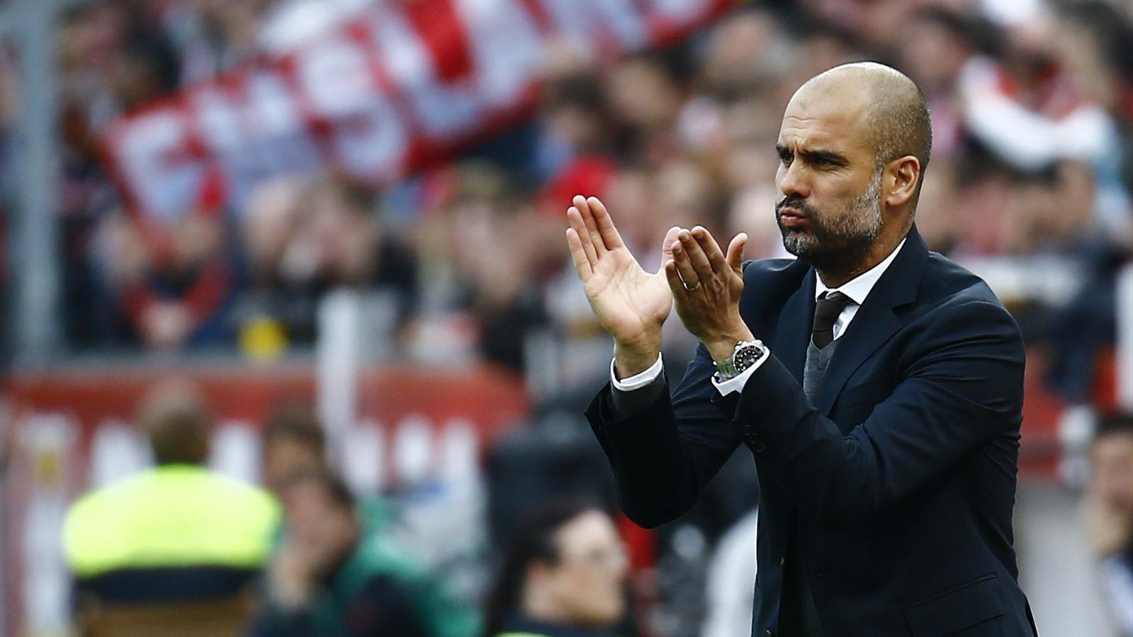 Pep Guardiola Vertrag Bayern