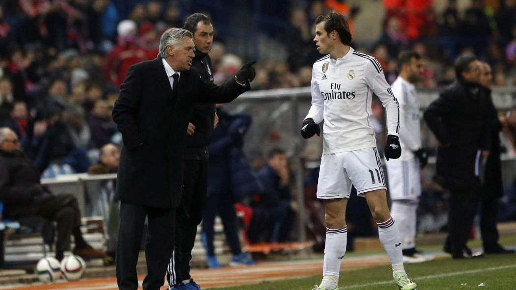 Image result for Ancelotti bale