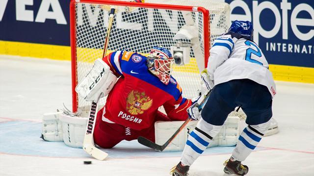 Россия проиграла Финляндии в полуфинале