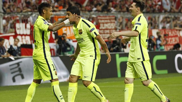 Месси, Суарес и Неймар – самое результативное трио в истории Испании