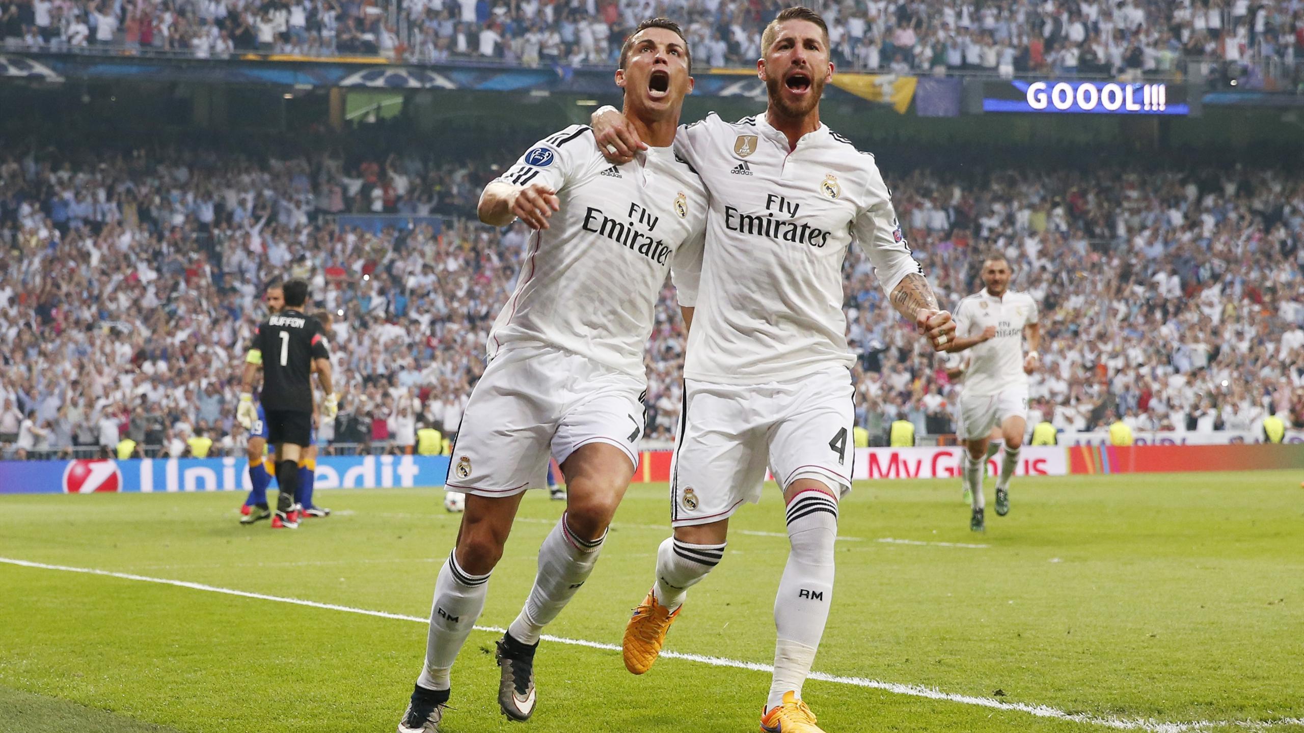 Криштиану Роналду и Серхио Рамос («Реал Мадрид»)