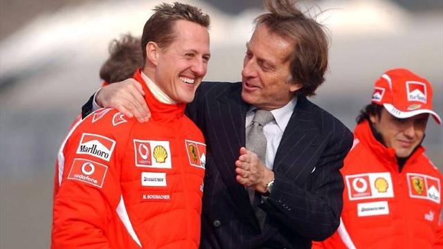 """Montezemolo: """"Prego per Schumacher. Leclerc? La Ferrari lo faccia crescere senza pressione"""""""