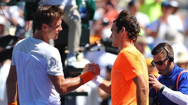 Berdych - Federer EN DIRECT