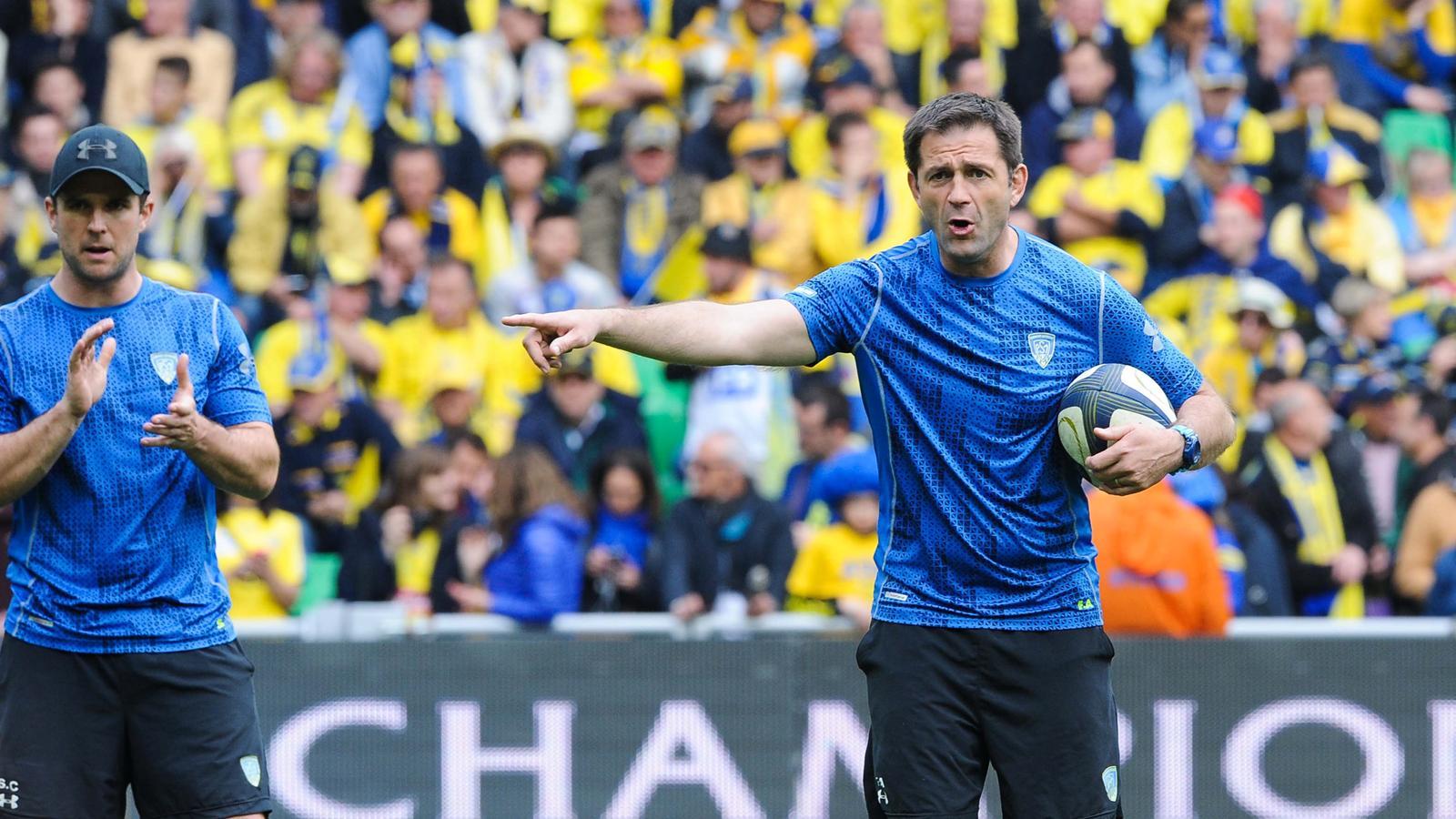 Franck Azema (Clermont) ne va rien lâcher en cette fin de saison - Mai 2015