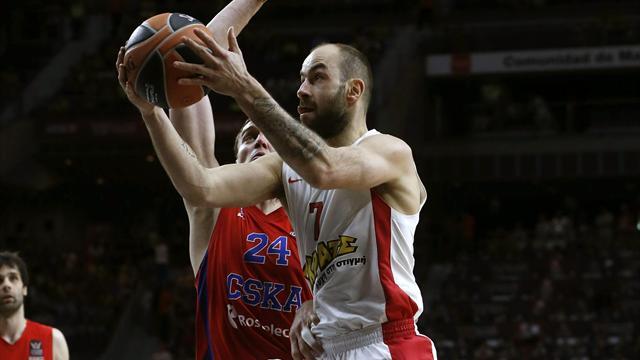 ЦСКА проиграл «Олимпиакосу» в полуфинале Евролиги