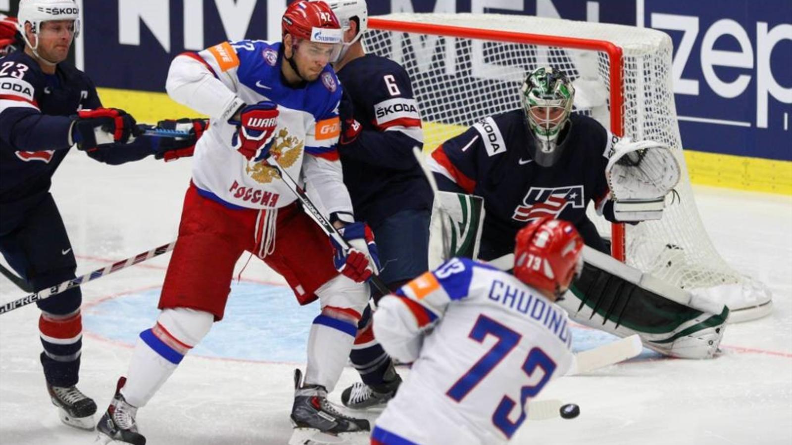 Результат игры россия сша хоккей