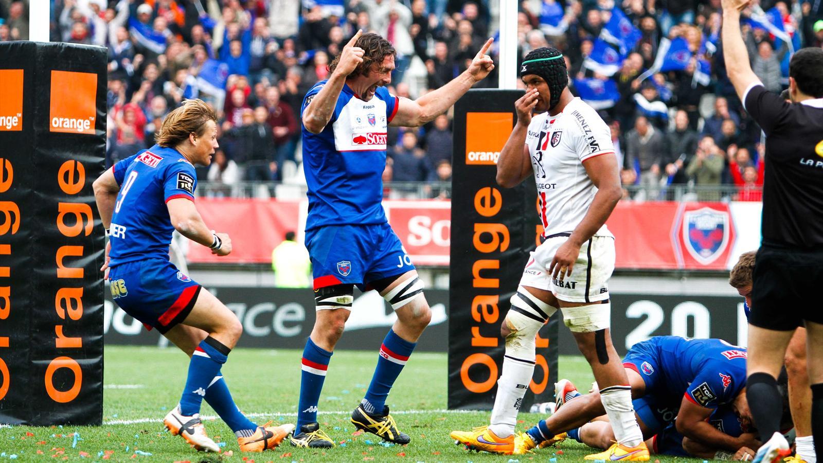 La joie de Skeate et McLeod (Grenoble) face à Toulouse