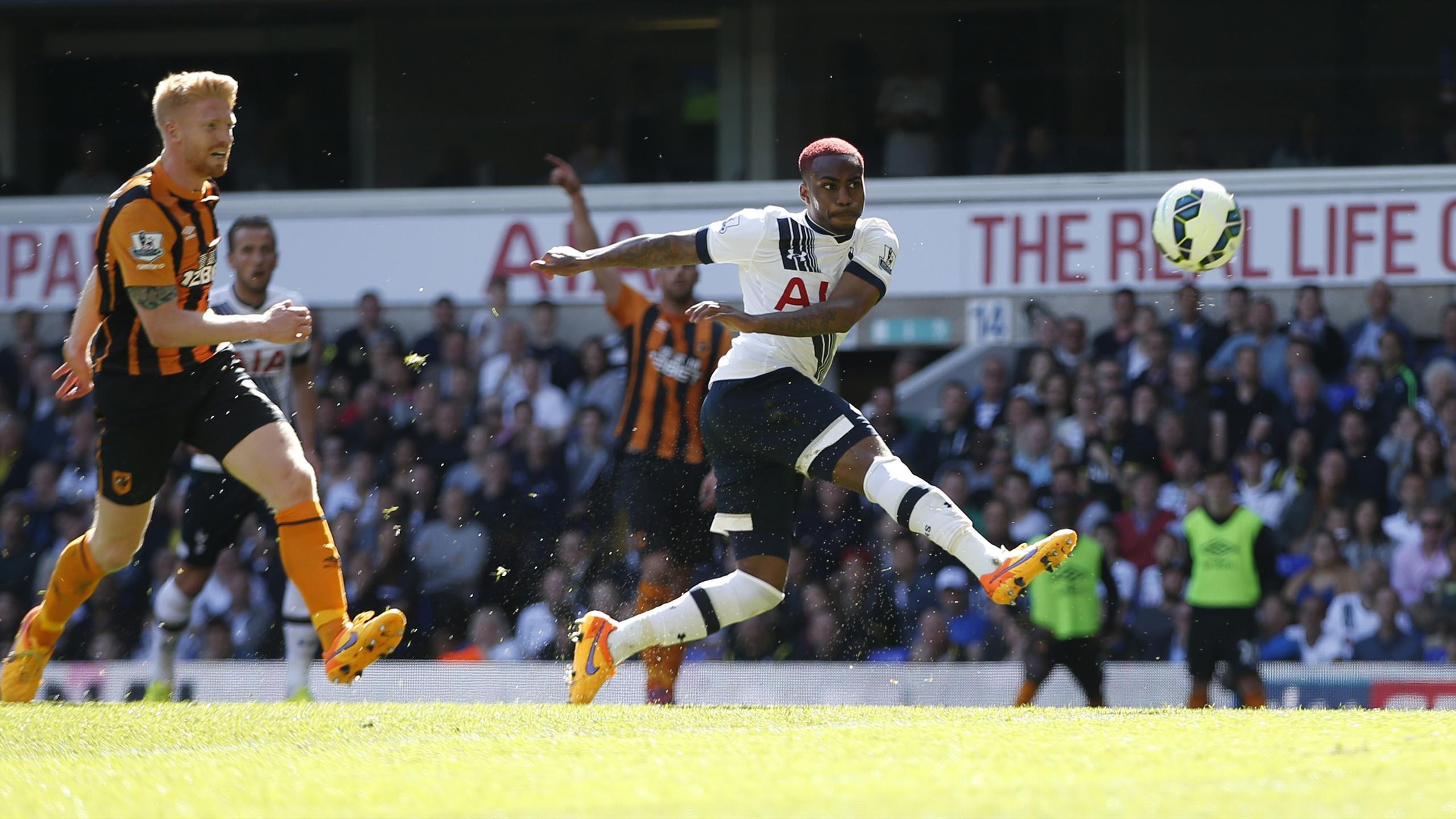 Danny Rose scores a brilliant goal for Tottenham against Hull