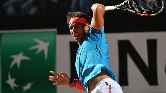"""Nadal : """"Je sens que je joue bien, sérieusement"""""""
