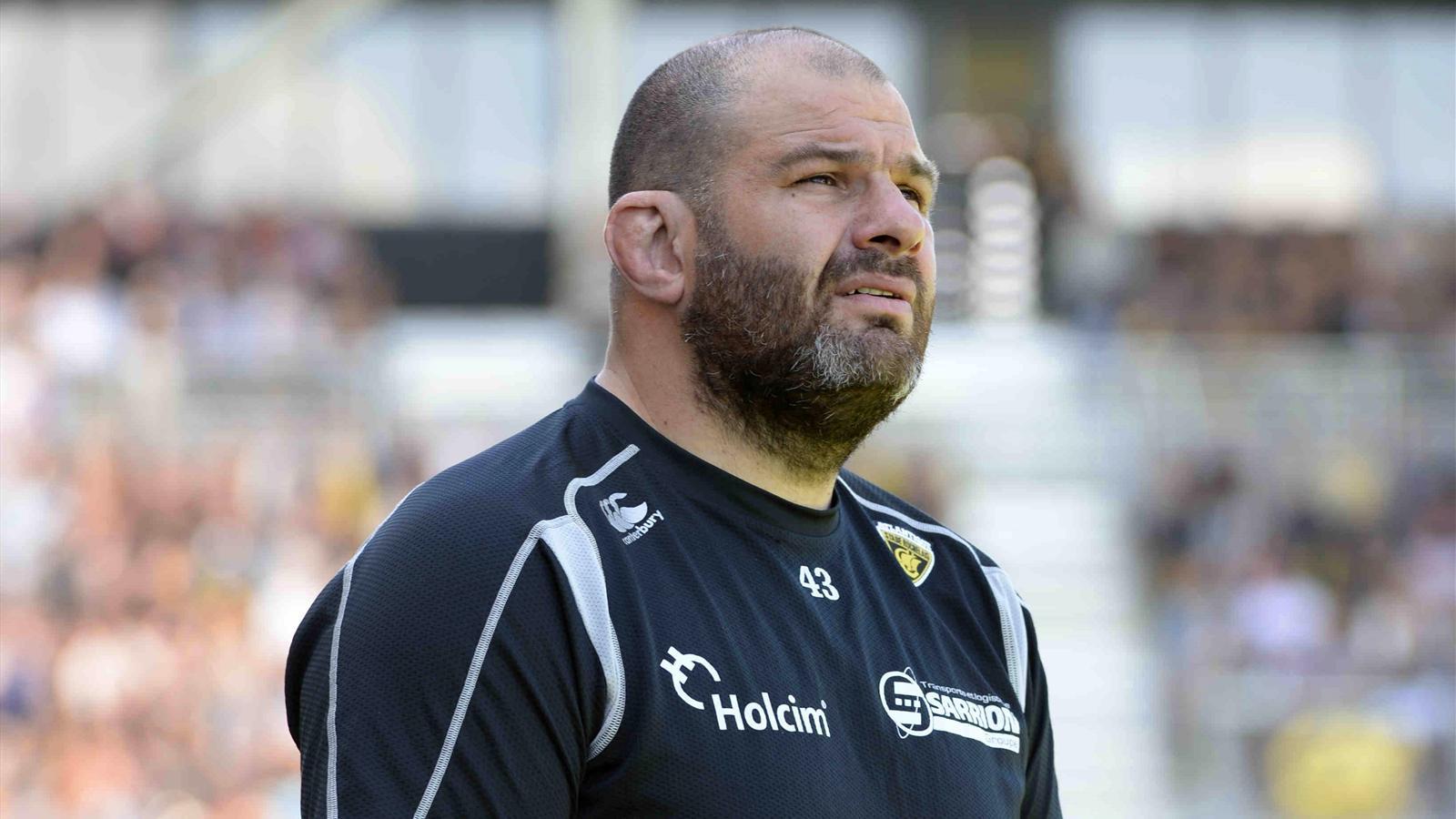 Le manager de La Rochelle, Patrice Collazo