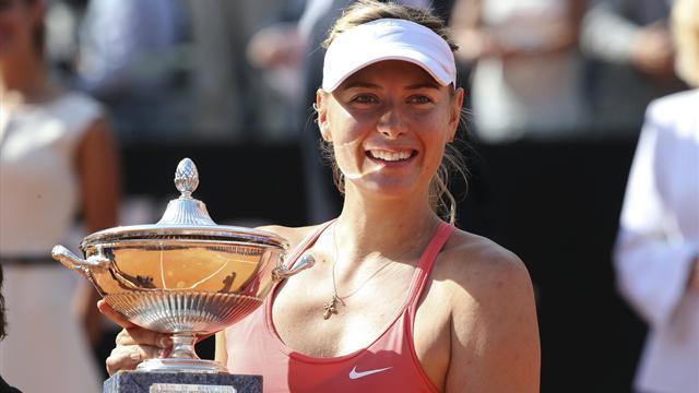 Sharapova deja a Carla sin título