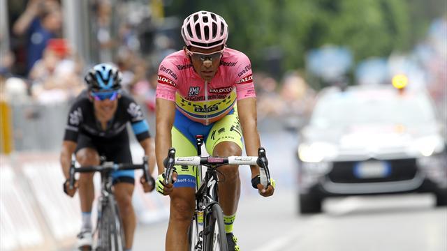 Контадор и Ару решают судьбу розовой майки «Джиро д'Италия»