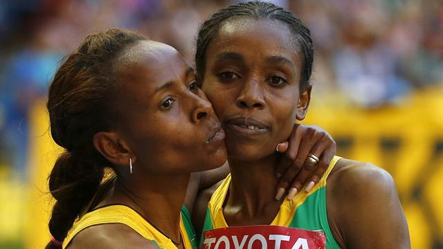 New Ethiopian star Almaz Ayana targets world record in Beijing