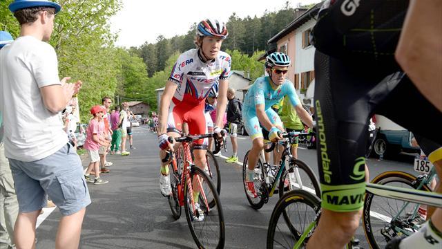 Велогонщик «Катюши» Закарин выиграл 11-й этап «Джиро д'Италия»
