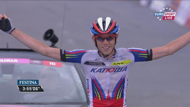 Победный финиш Закарина на 11-м этапе «Джиро д'Италия»