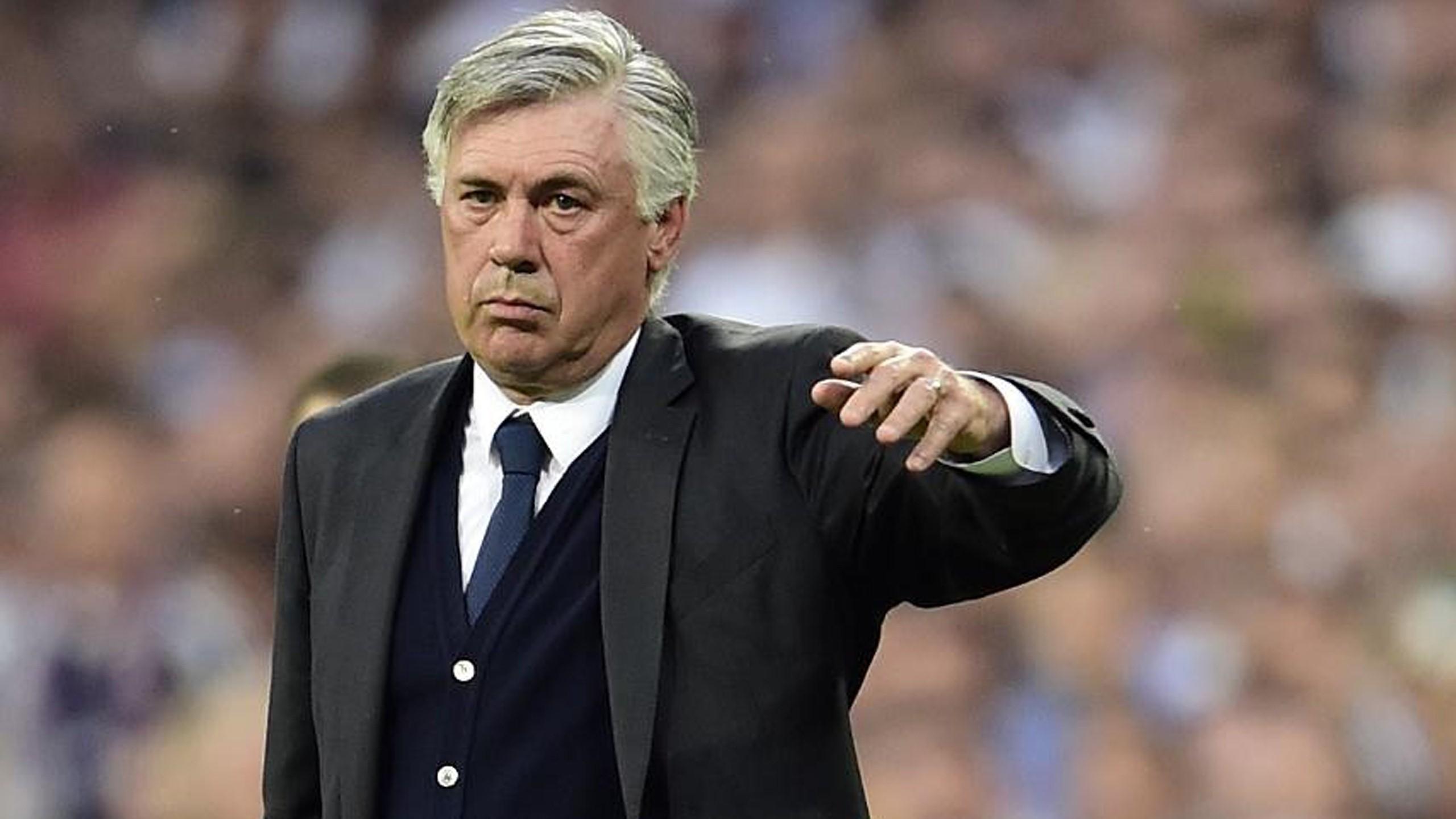 Carlo Ancelotti steht bei Real Madrid in der Kritik