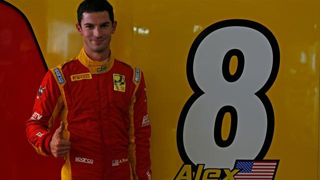 Rossi en pole position