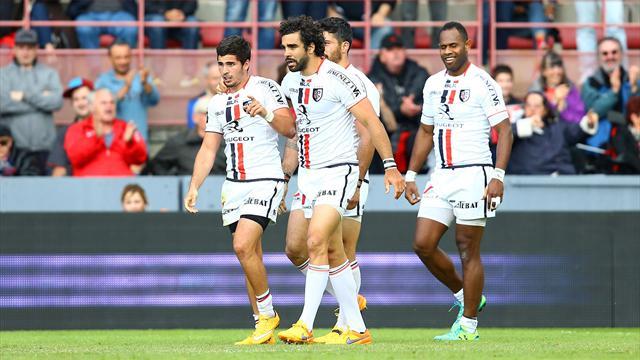 Toulon et Toulouse s'évitent jusqu'en finale, un derby francilien en barrages